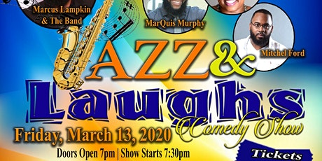 Jazz & Laughs Comedy Show tickets