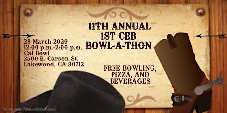 11th Annual 1st CEB Bowl-a-Thon (POSTPONED) tickets