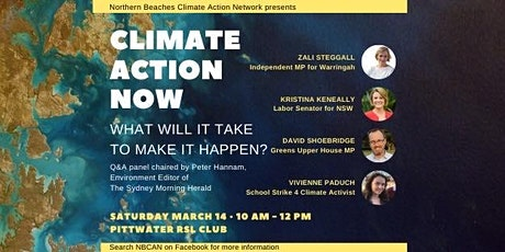 Climate Action Now tickets