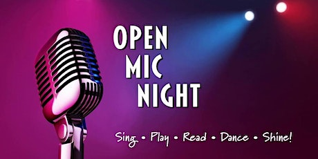Open Mic Wednesday's Happy Hour All Day tickets