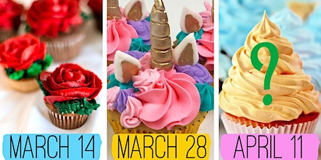 Cupcakes with Sugarbaker's tickets