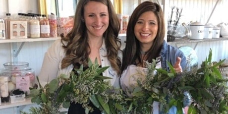 Fresh Herb and Lavender Wreath Workshop: 2nd Night Added! tickets