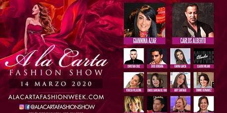 A la Carta Fashion Show boletos