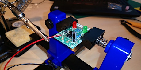 Learn to solder... a Red-Green LED Flasher! tickets