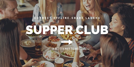 Supper Club | East-Side Singles 25-45 tickets