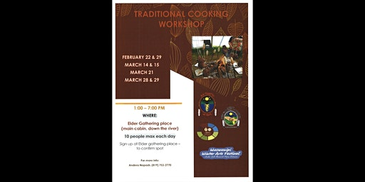 Traditional Cooking Workshop - Waswanipi Winter Arts Festival 2020
