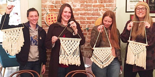 Macrame Wall Hanging Class at Memphis Made