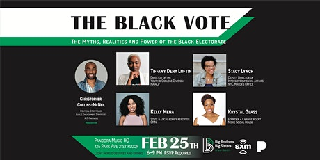 The Black Vote: The Myths, Realities & the Power of the Black Electorate tickets