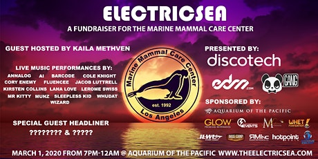 Electricsea at the Aquarium tickets