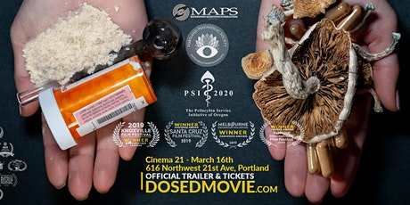 DOSED - Encore Screening at Cinema 21 on March 16 tickets