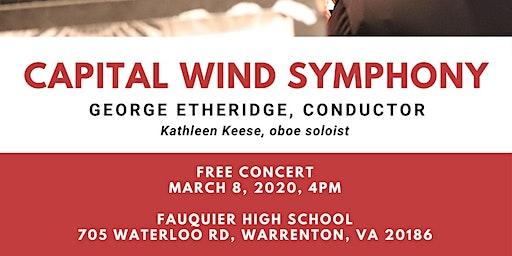 Capital Wind Symphony Concert