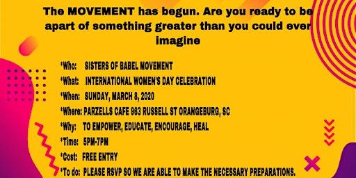 Celebration of International Women's Day  Gathering