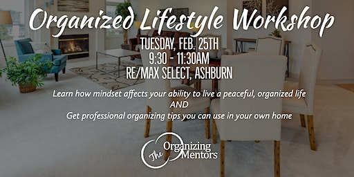 Organized Lifestyle Workshop: LITL Talks Big IDEAS