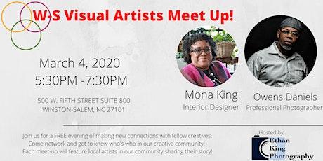 Visual Artists Meet-Up! tickets