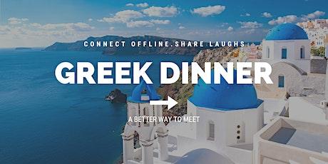 Greek Dinner | Meet New Friends tickets