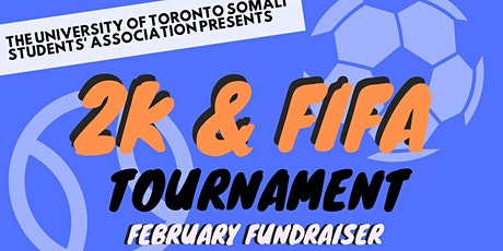 2K and FIFA Tournament: February Fundraiser tickets