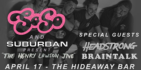 SoSo - 'The Henry Lawson Jive' Single Launch tickets