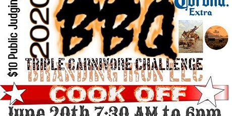 1ST Annual 2020 Triple Carnivore Challenge tickets