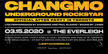 CHANGMO AFTER PARTY PROMO CODE TICKETS tickets