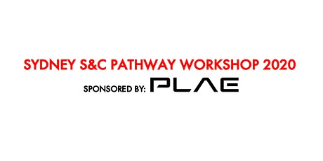 2020 Sydney Strength and Conditioning Pathway Workshop tickets