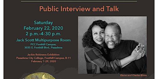 Artist Talk - Charles and Elaine Bibbs - Jackie Robinson Commission
