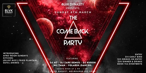 THE COMEBACK PARTY