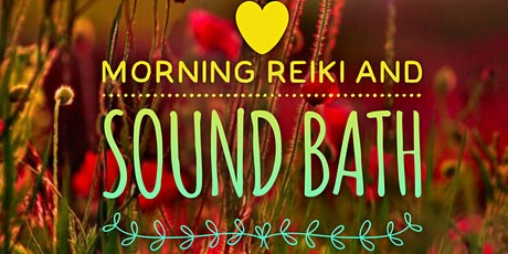 Morning Reiki and Sound Bath tickets
