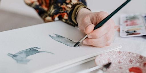 Watercolor Tierillustrationen