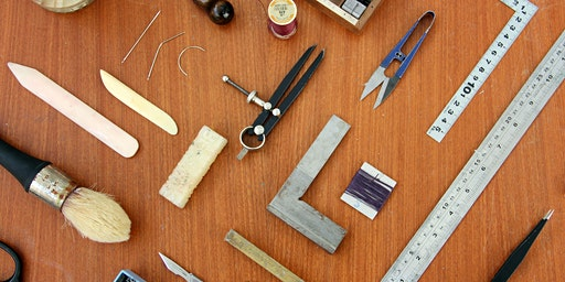 Society of Bookbinders at Fruitmarket Book Fair - Box making Demo