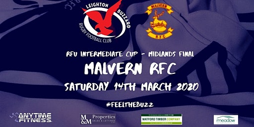 Leighton Buzzard RFC vs Malvern RFC - Midlands Intermediate Cup Final