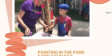 Painting in the Park Family Fun Day: Christmas in July 2020 tickets