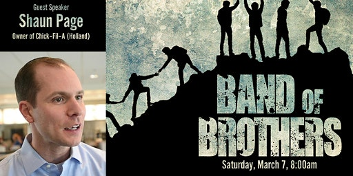 Band of Brothers Breakfast- March 7, 2020