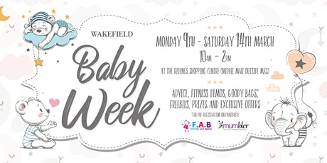 Wakefield Baby Week - Shire Rose Yoga tickets