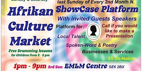Auntie Jean's Afrikan Culture Market tickets