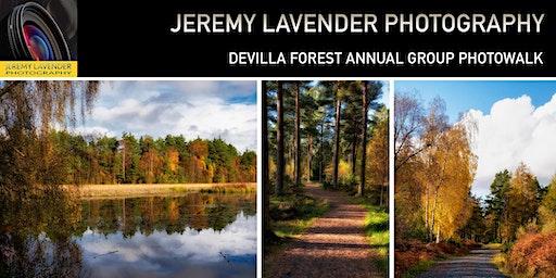 Kincardine Devilla Forest Annual Group Photowalk