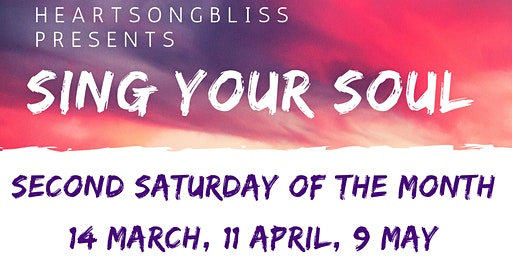 Heartsongbliss presents Sing your Soul
