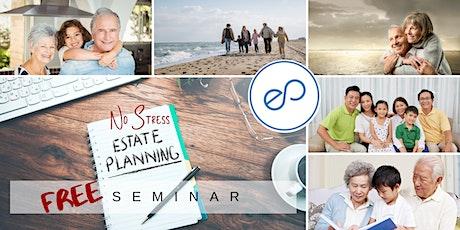 No Stress Estate Planning Seminar tickets