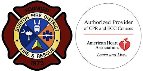 American Heart Association Heartsaver First-Aid Certification tickets