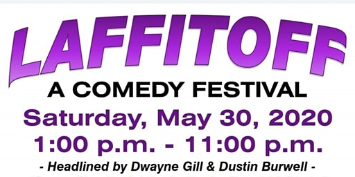 LAFFITOFF --- A comedy festival to benefit The Alzheimer's Association