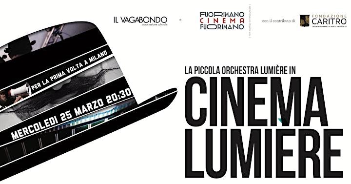 Immagine Cinema & Orchestra ♬ Buster Keaton + Charlie Chaplin LIVE