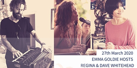 Omkar Lounge World Kirtan & Sacred Sounds w Regina, Emma Goldie & Dave W tickets