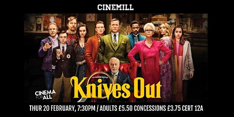 Knives Out at Strathaven Town Mill tickets