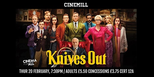 Knives Out at Strathaven Town Mill