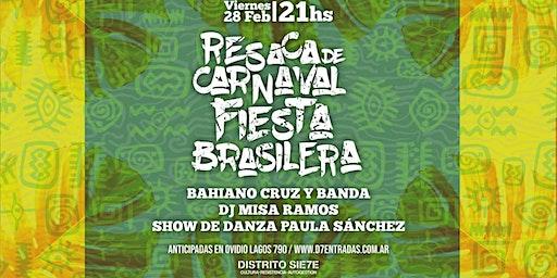 Resaca de carnaval fiesta brasilera