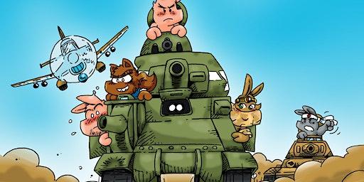 """Presentación del comic """"Pig Squad: Africa"""""""
