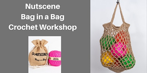Nutscene Twine Crochet Bag in a Bag
