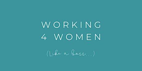 Working4Women Workshop tickets