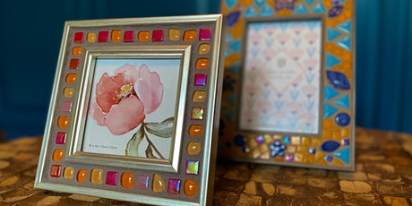 Make Something Saturday: Mosaic Picture Frame tickets