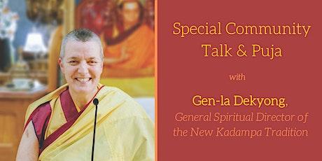 Special Community Talk with Gen-la Dekyong tickets