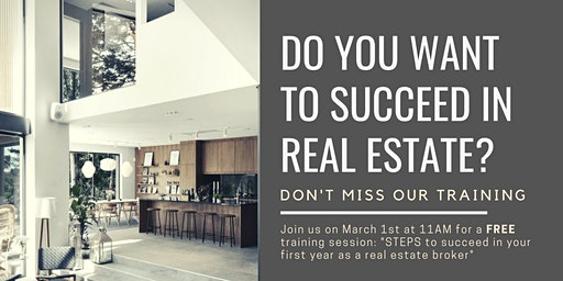 How to succeed Year 1 (Montreal Real Estate)